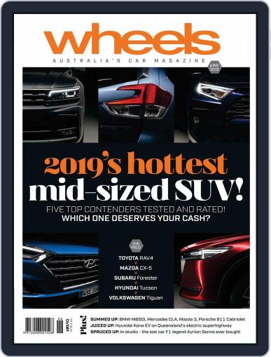 Wheels (Digital) June 1st, 2019 Issue Cover