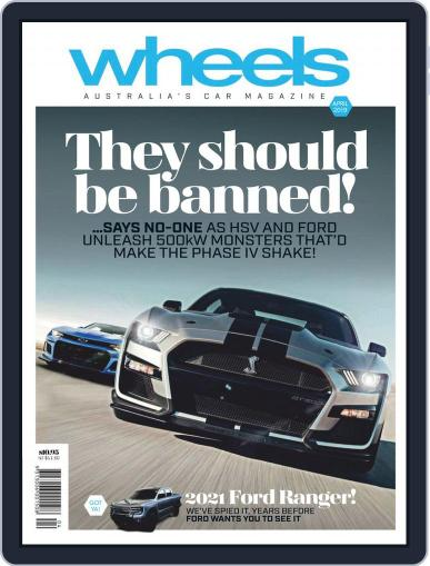 Wheels April 1st, 2019 Digital Back Issue Cover
