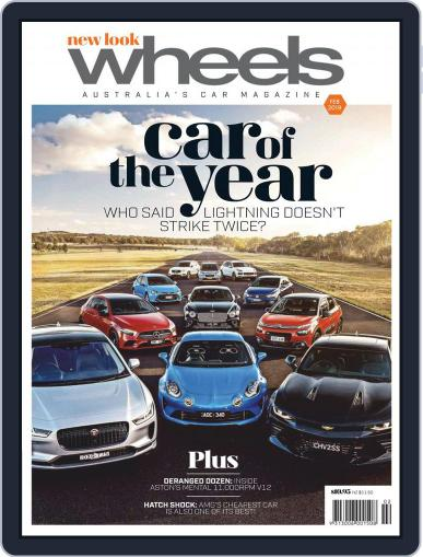 Wheels (Digital) February 1st, 2019 Issue Cover