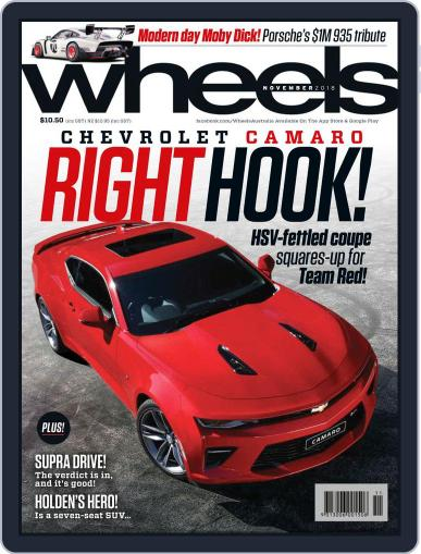 Wheels (Digital) November 1st, 2018 Issue Cover