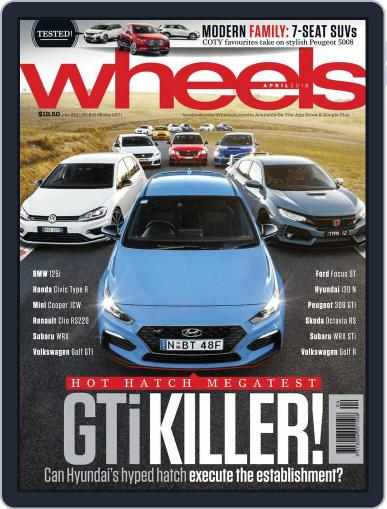 Wheels April 1st, 2018 Digital Back Issue Cover