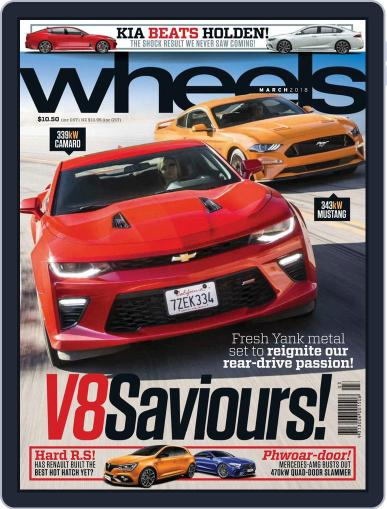 Wheels (Digital) March 1st, 2018 Issue Cover