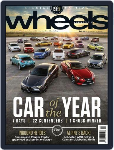 Wheels (Digital) January 1st, 2018 Issue Cover