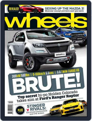 Wheels December 1st, 2017 Digital Back Issue Cover