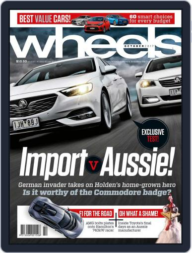 Wheels (Digital) October 1st, 2017 Issue Cover