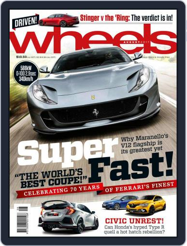 Wheels (Digital) August 1st, 2017 Issue Cover