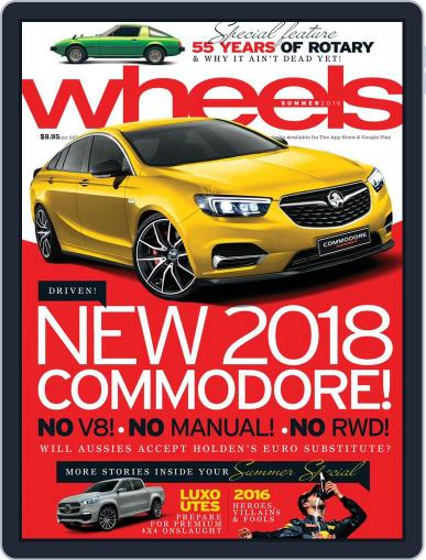 Wheels (Digital) December 15th, 2016 Issue Cover