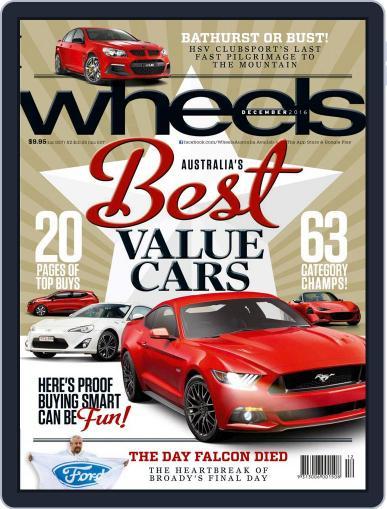 Wheels December 1st, 2016 Digital Back Issue Cover