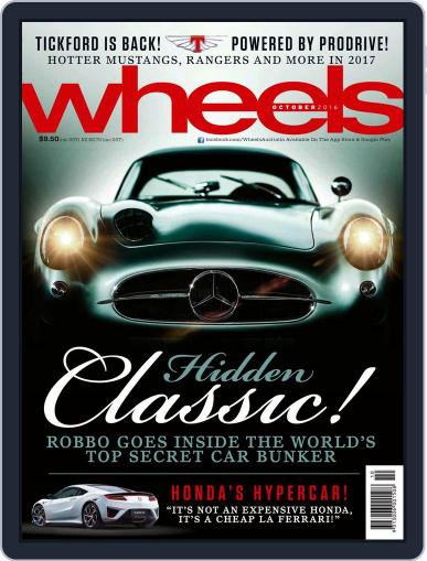 Wheels (Digital) October 1st, 2016 Issue Cover