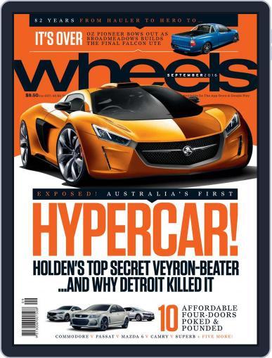 Wheels September 1st, 2016 Digital Back Issue Cover