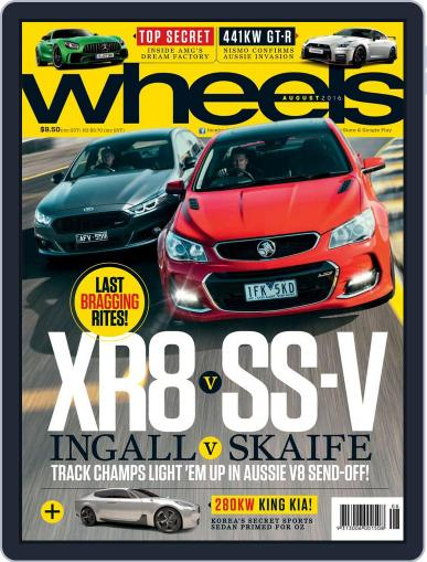 Wheels (Digital) July 20th, 2016 Issue Cover