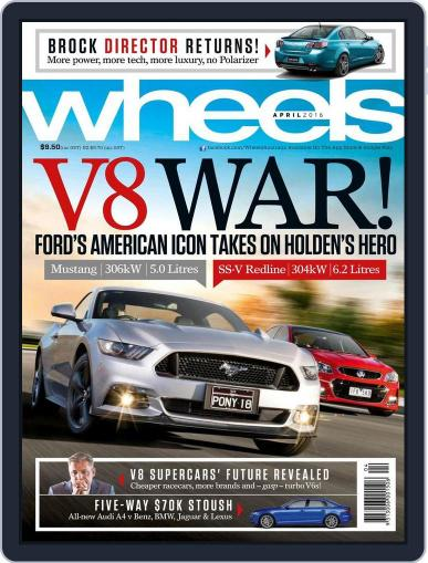 Wheels (Digital) March 16th, 2016 Issue Cover