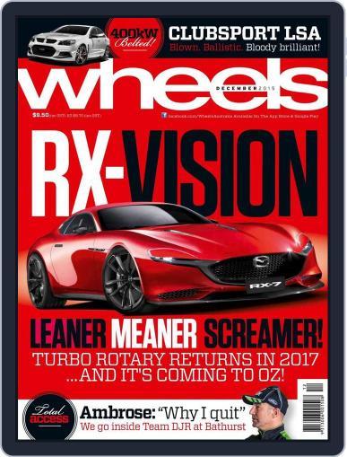 Wheels (Digital) November 18th, 2015 Issue Cover