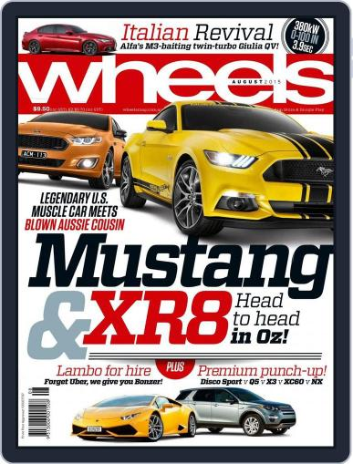 Wheels July 14th, 2015 Digital Back Issue Cover