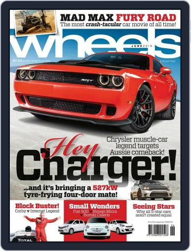 Wheels (Digital) May 20th, 2015 Issue Cover