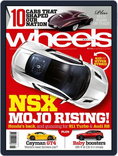 Wheels (Digital) April 15th, 2015 Issue Cover