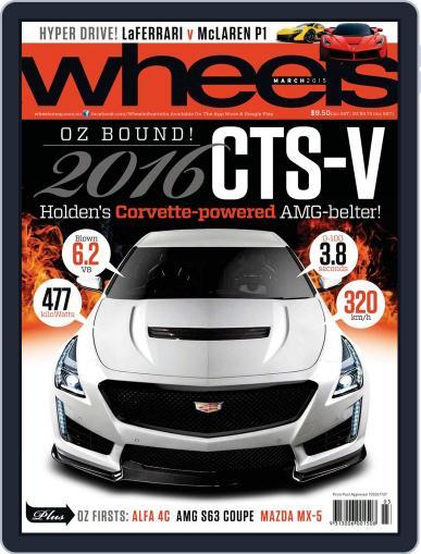 Wheels February 18th, 2015 Digital Back Issue Cover