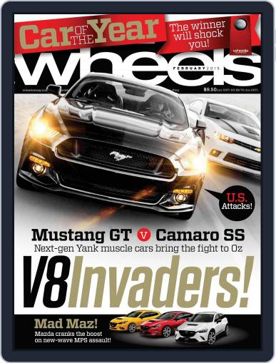 Wheels (Digital) January 22nd, 2015 Issue Cover