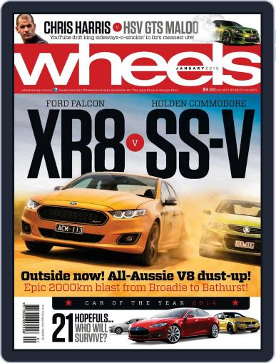 Wheels (Digital) December 18th, 2014 Issue Cover