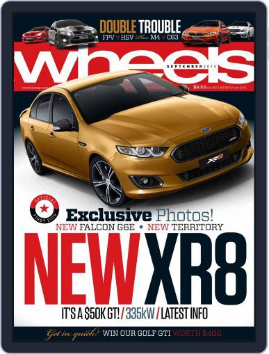 Wheels August 13th, 2014 Digital Back Issue Cover
