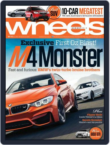 Wheels July 16th, 2014 Digital Back Issue Cover