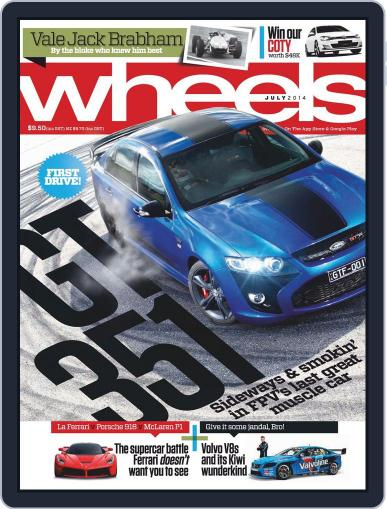 Wheels (Digital) June 18th, 2014 Issue Cover