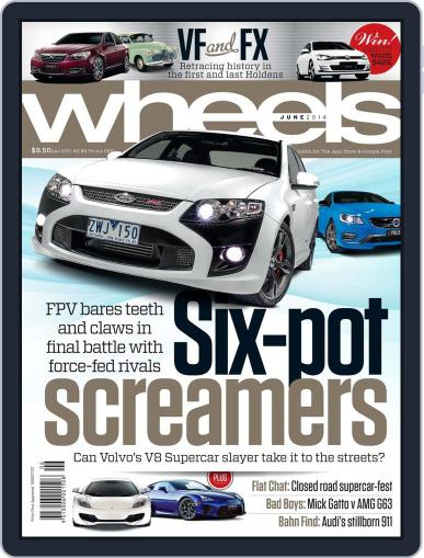 Wheels (Digital) May 14th, 2014 Issue Cover