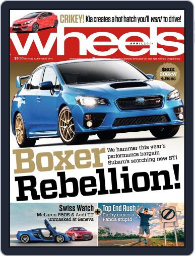 Wheels (Digital) March 19th, 2014 Issue Cover