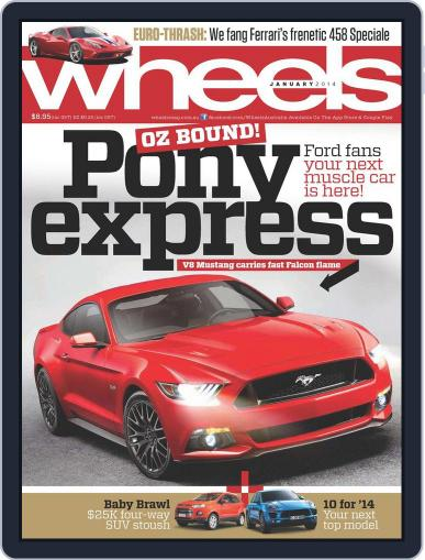 Wheels December 16th, 2013 Digital Back Issue Cover