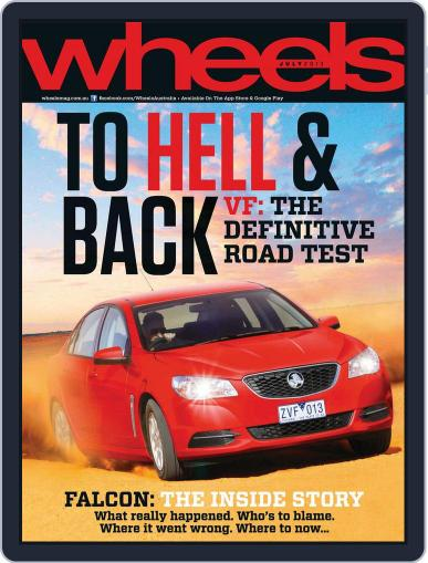 Wheels (Digital) July 1st, 2013 Issue Cover