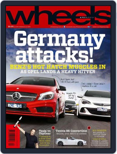 Wheels (Digital) March 19th, 2013 Issue Cover