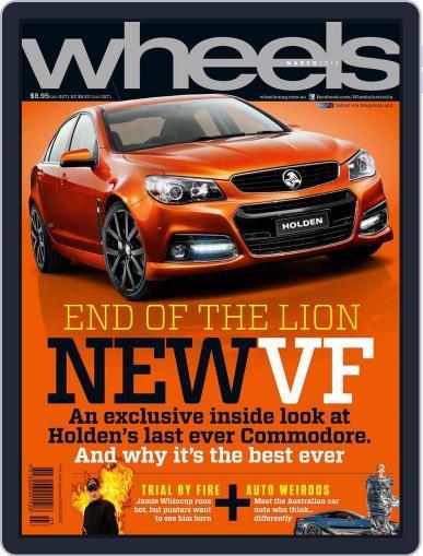 Wheels (Digital) February 19th, 2013 Issue Cover