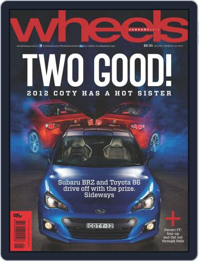 Wheels December 16th, 2012 Digital Back Issue Cover