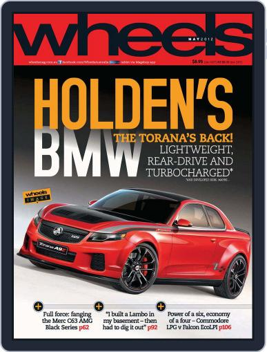 Wheels (Digital) December 13th, 2012 Issue Cover