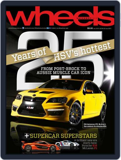 Wheels (Digital) October 16th, 2012 Issue Cover