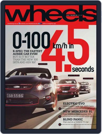 Wheels September 18th, 2012 Digital Back Issue Cover
