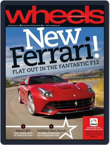 Wheels (Digital) August 14th, 2012 Issue Cover