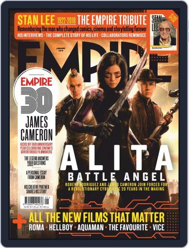 Empire (Digital) January 1st, 2019 Issue Cover