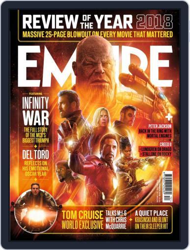 Empire December 1st, 2018 Digital Back Issue Cover