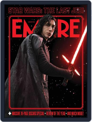 Empire (Digital) January 1st, 2018 Issue Cover