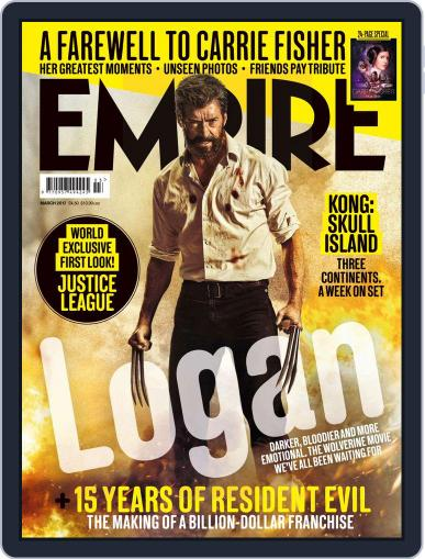 Empire March 1st, 2017 Digital Back Issue Cover