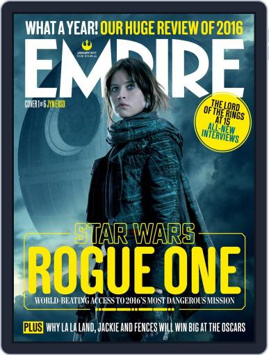 Empire January 1st, 2017 Digital Back Issue Cover
