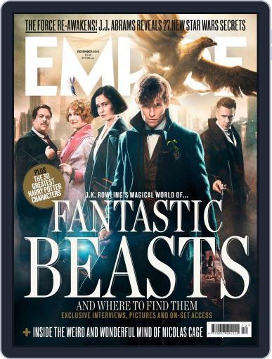 Empire (Digital) December 1st, 2016 Issue Cover