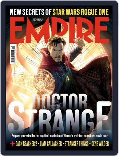 Empire (Digital) November 1st, 2016 Issue Cover