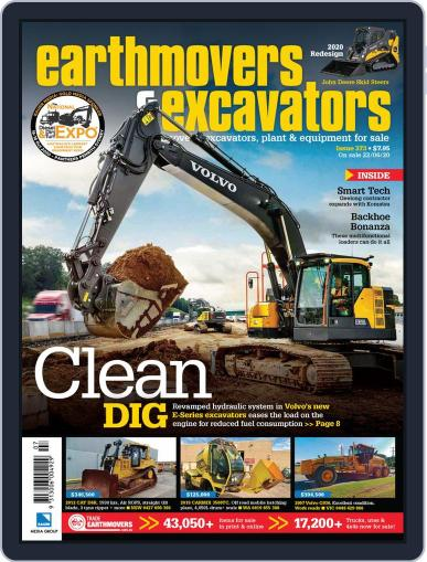 Earthmovers & Excavators (Digital) June 22nd, 2020 Issue Cover
