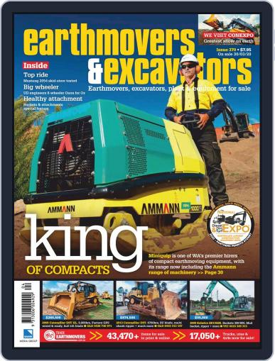 Earthmovers & Excavators (Digital) March 24th, 2020 Issue Cover