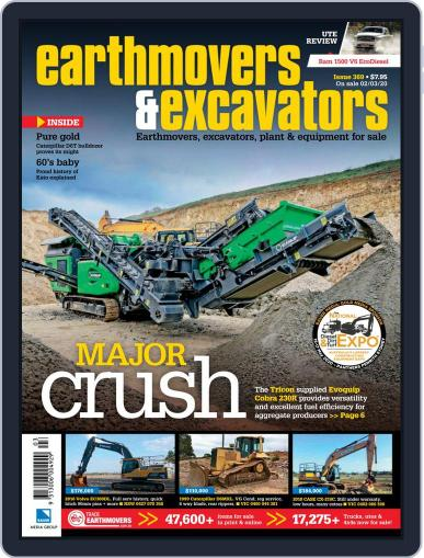 Earthmovers & Excavators March 2nd, 2020 Digital Back Issue Cover