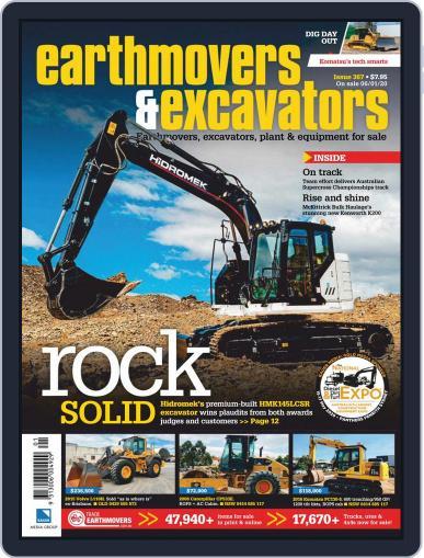 Earthmovers & Excavators (Digital) January 1st, 2020 Issue Cover