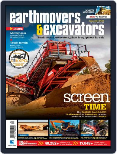 Earthmovers & Excavators (Digital) December 15th, 2019 Issue Cover