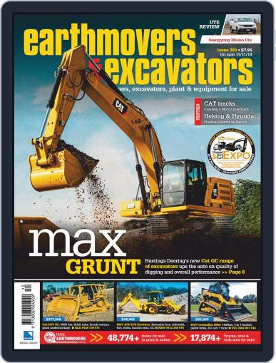 Earthmovers & Excavators December 3rd, 2019 Digital Back Issue Cover